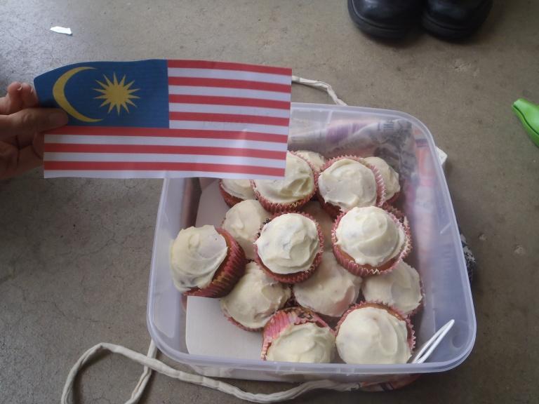 Malaysian, Banana Cupcakes