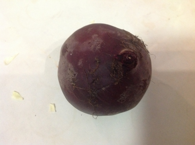 First Start with a beetroot
