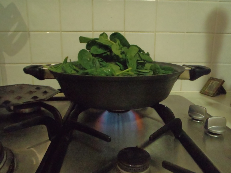 All that spinach