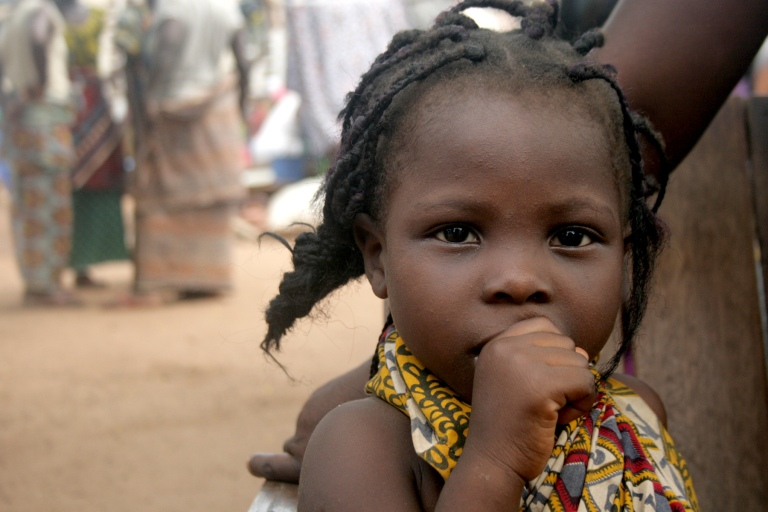 Child at the Catholic mission in Duékoué_0